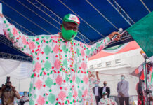 Obaseki during campaign