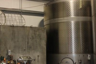 Fermentation/holding tanks
