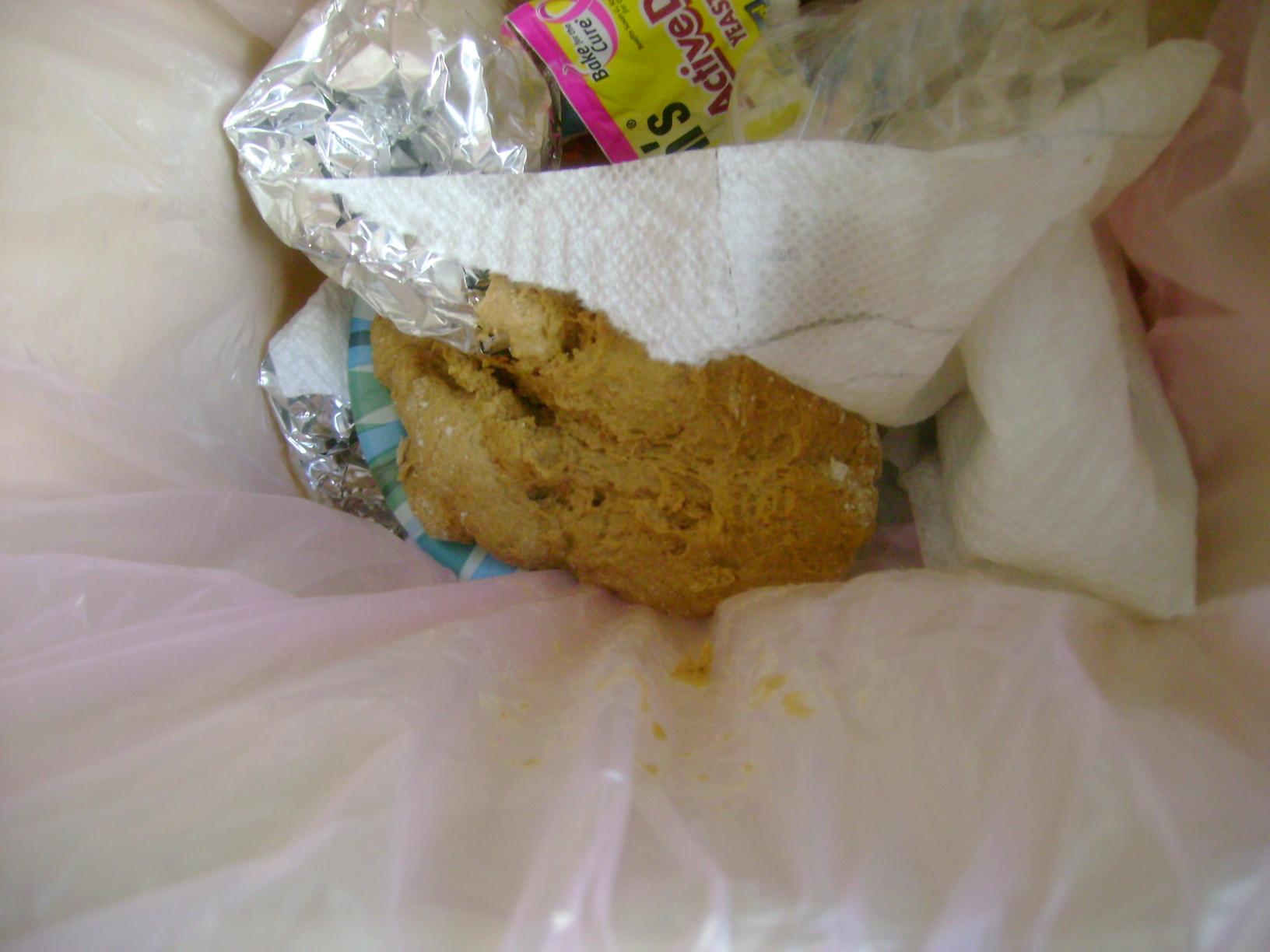 Dough In Trash