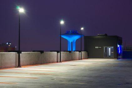 Parkeringshus Belysning