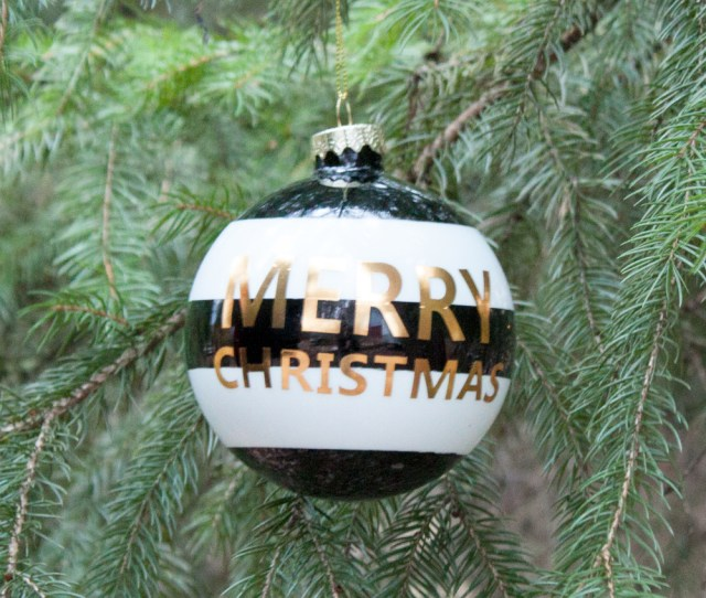 Holiday Cheer Merry Christmas Ornament