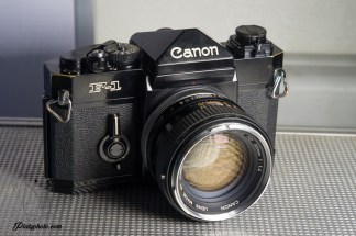 CANON F-1 OLD + CANON FD 50mm F:1.4 CHROME NOSE