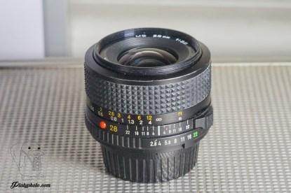 MINOLTA MD 28mm F:2.8