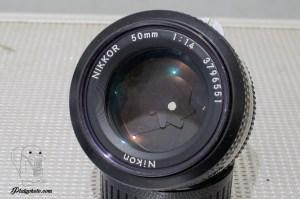 Nikon Nikkor 50mm F:1.4 non AI 1976