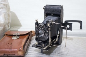 Zeiss Ikon Icarette Tessar 105mm F:4.5