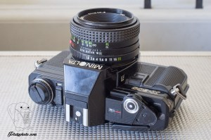 Minolta X-300 + Vivitar 50mm F:1.8
