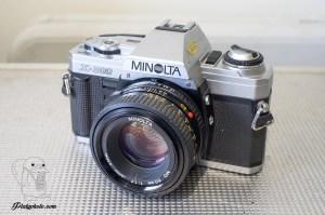 Minolta X-300 + 50mm F:1.7