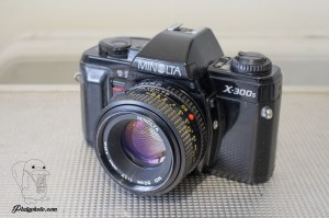 Minolta X-300s + 50mm F:1.7