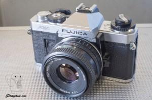 Fujica AX-1 + 55mm F:2.2