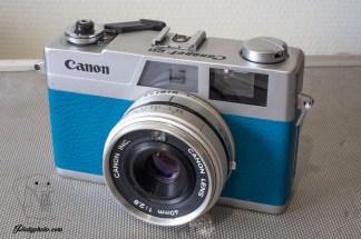 Canonet 28 bleu