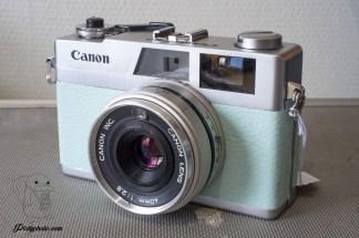 Canon Canonet 28 40mm F:2.8 bleu clair