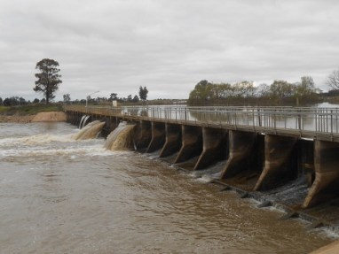 dams Little Murray weir