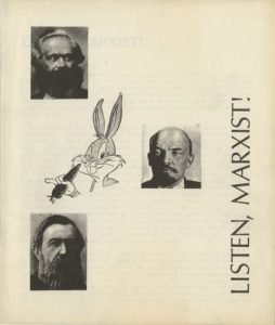 "Front cover of the 1969 pamphlet by Murray Bookchin, ""Listen, Marxist!"""