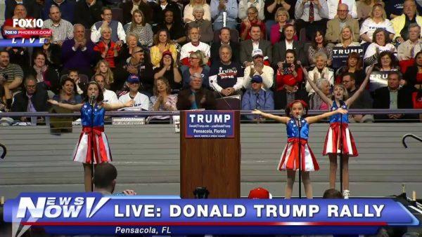 Donald Trump rally, Pensacola, Florida, Jan 15 2016.