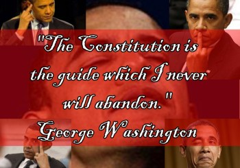 """The Constitution is the guide which I never will abandon."" - George Washington"