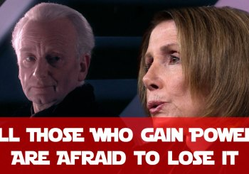 All who seek power are afraid to lose it