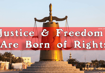 Justice and Freedom are Born of Rights