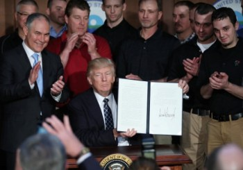 Trump signing EO on climate controls