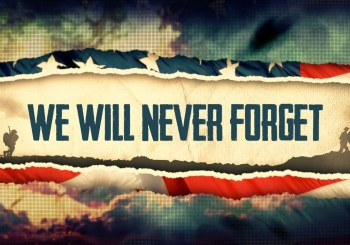 We will never forget poster