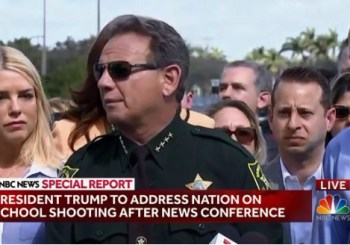 sheriff, Scott Israel, of Broward County