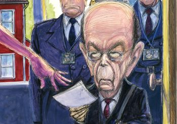 Wilbur Ross Cartoon