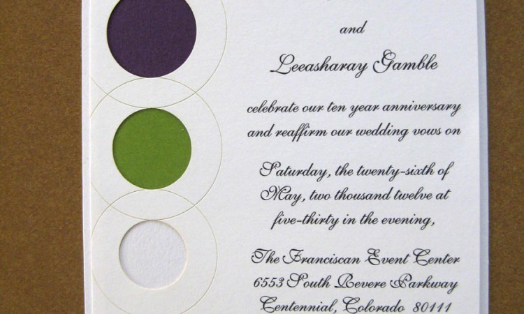 Past Present Future Wedding Invitation By Platypus Papers