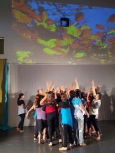 Teatre Comunitari-Teatre Social a l'Escola Prat de la Manta
