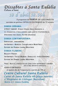 Dissabtes a Santa Eulàlia Dansa - Programa