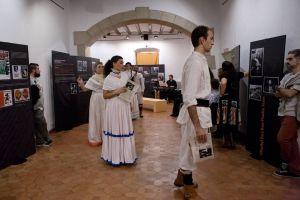 Recreació histórica del temps de Rafael Barradas al Museu de L'Hospitalet