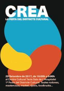 CREA La festa del Districte Cultural de L'Hospitalet de Llobregat