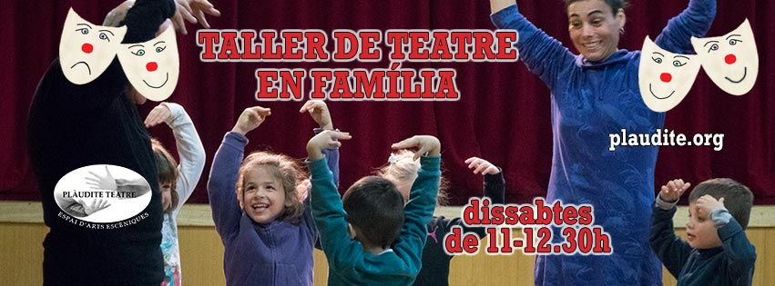 (Català) Taller de Teatre en Família