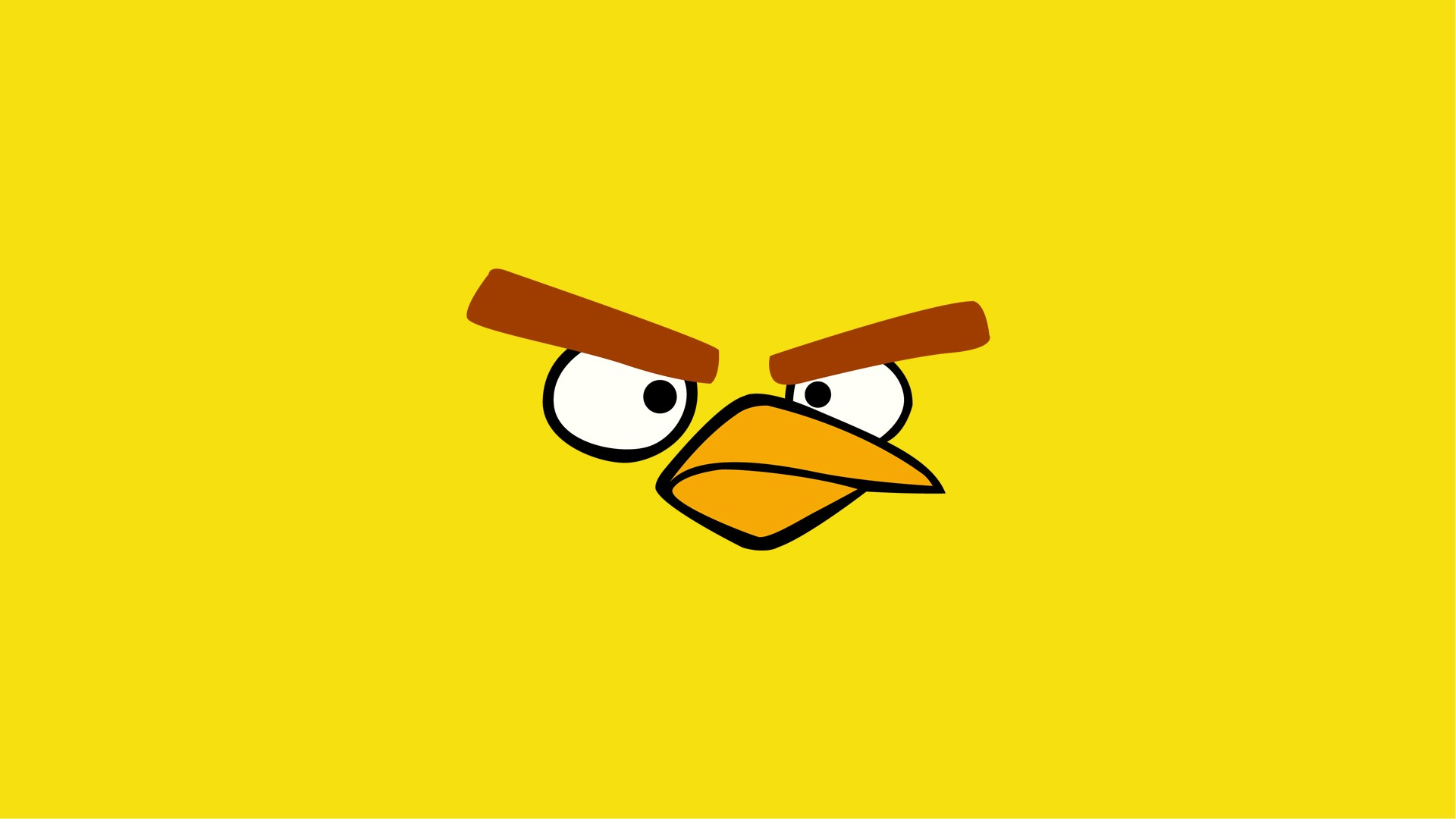 angry birds online angry birds wallpapers yellow bird