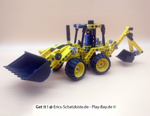 Lego® 42004 [Technic] Mini-Baggerlader Mini Backhoe (Get it @ PLAY-BAY.de)