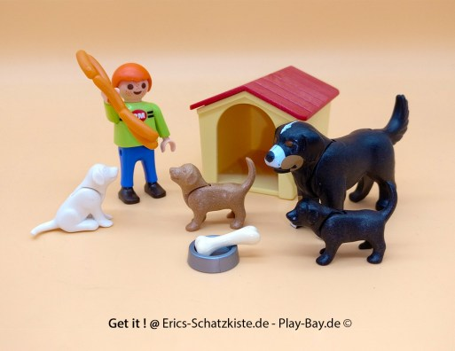 Playmobil®4498 Berner Sennenhund mit Welpen (Get it @ PLAY-BAY.de)