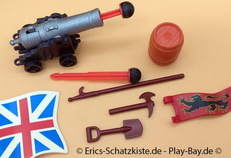 Playmobil® 5140 Kanonensegler der Rotröcke Redcoats Battle Ship (Get it @ PLAY-BAY.de)