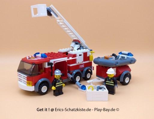 Lego® 7239 [City] Feuerwehrlöschzug Fire Truck (Get it @ PLAY-BAY.de)
