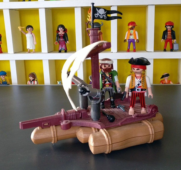 Playmobil® Piratenfloß