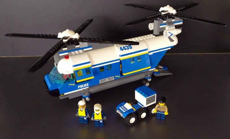 Lego® 4439 [City] Hubschrauber mit Doppelrotor / Heavy-Duty Helicopter (Get it @ PLAY-BAY.de)