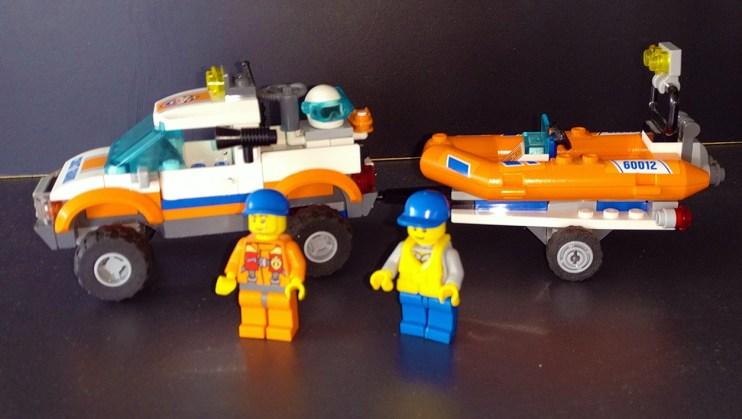 Lego® 60012 [City] Küstenwachenfahrzeug mit Schlauchboot / 4x4 & Diving Boat (Get it @ PLAY-BAY.de)