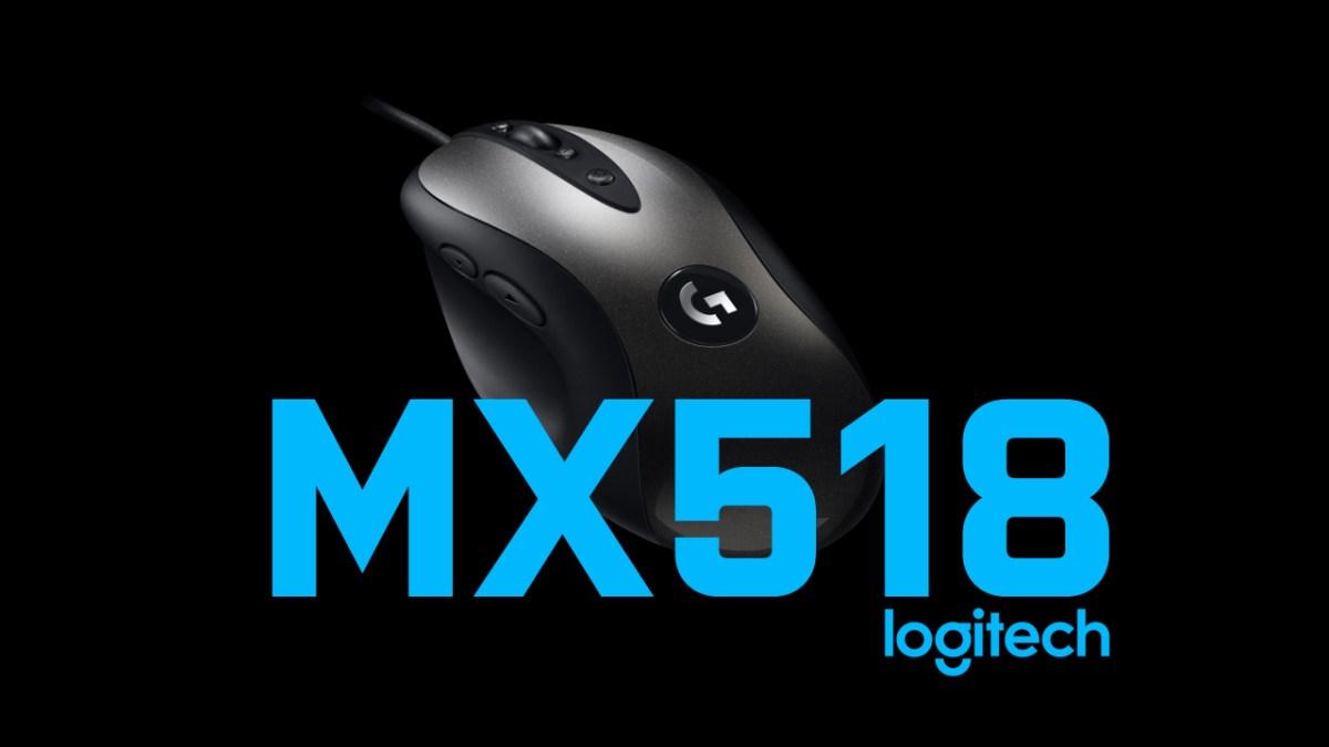 EINE LEGENDE KEHRT ZURÜCK - Logitech lässt die MX518 Gaming-Maus auferstehen