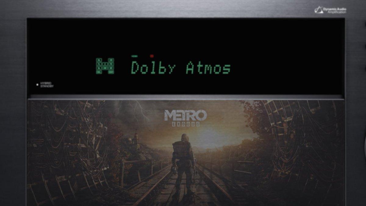 METRO EXODUS - das Spiel schreit sprichwörtlich nach einer ATMOS-Heimkinoanlage