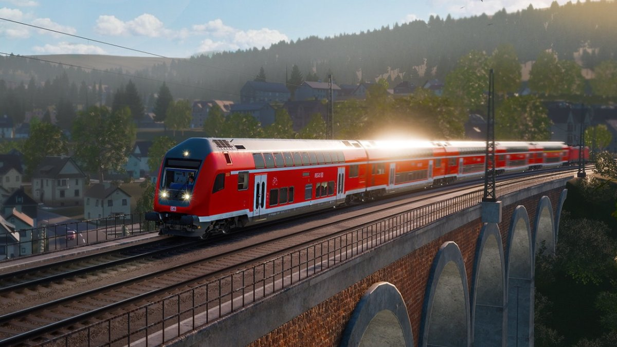 TRAIN SIM WORLD - neue Strecke geht von Aschaffenburg nach Gmünden