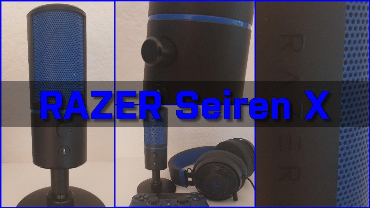 [ TEST ] RAZER SEIRĒN X - Ein Mikrofon nicht nur für Streamer