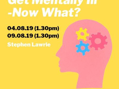 You're Going To Get Mentally Ill – Now What? Part of the Cabaret of Dangerous Ideas #DramatherapistAtEdFringe