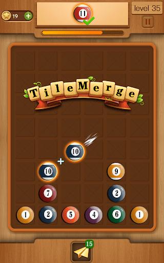 tile merge block puzzle game