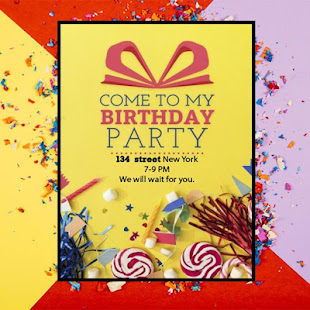 birthday invitation card maker apps