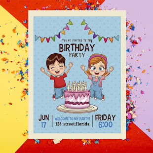 birthday invitation card maker apps