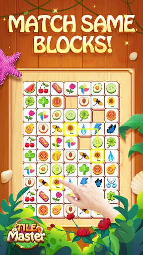 classic triple match puzzle game
