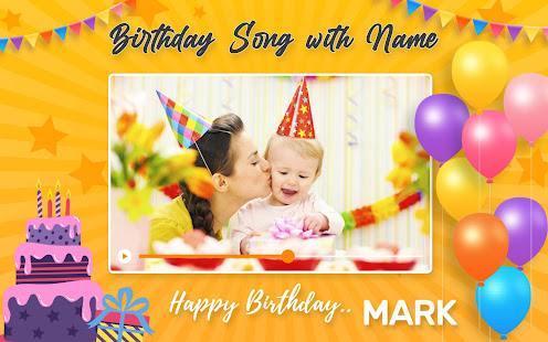 Birthday Song With Name Birthday Video Maker Apps Bei Google Play