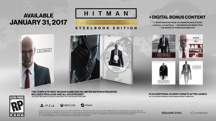 hitman first season disk